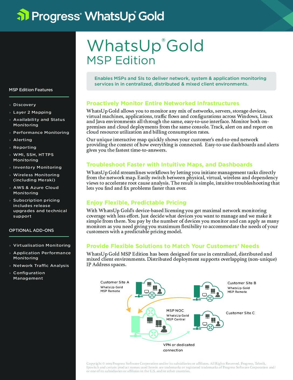 MSP Edition
