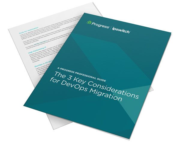 The 3 Key Considerations for DevOps Migration